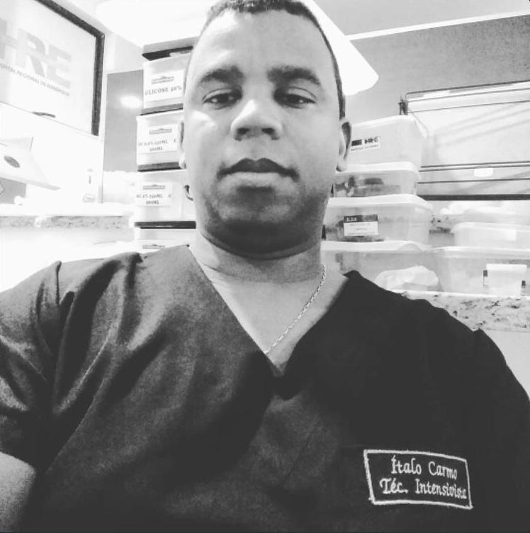 Mais uma vítima do covid-19, o técnico de Enfermagem Ítalo Carmo. – Foco  Atual